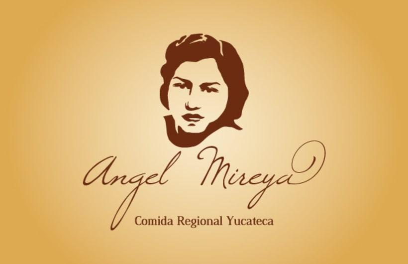 Logotipo Restaurante Mireya 1