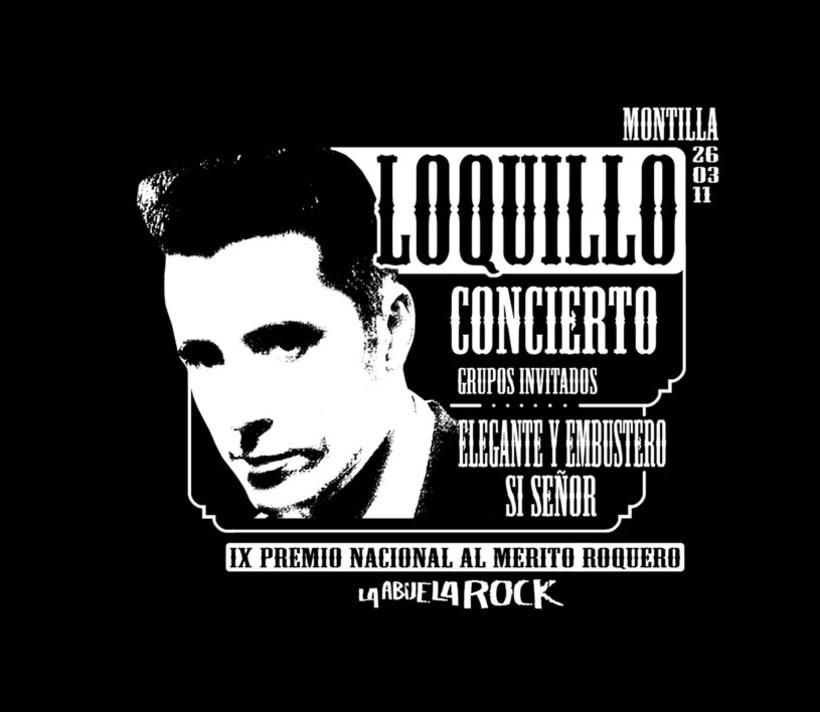 CARTEL LOQUILLO 1