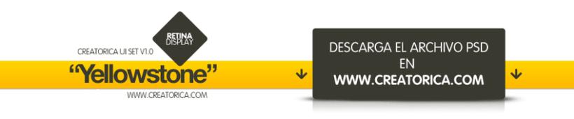 Creatorica UI Set - Yellowstone 3