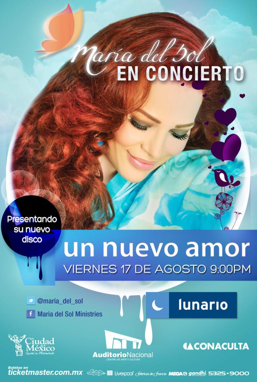 Flyer para concierto 1