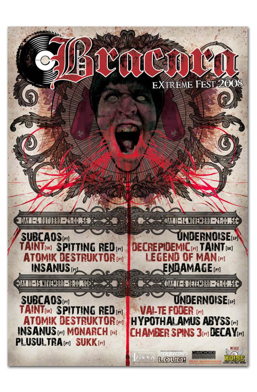BRACARA FEST | Logo + Poster 2