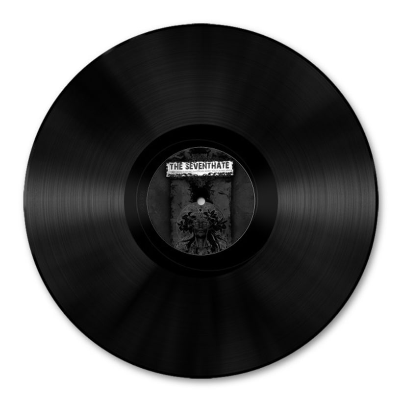 THE SEVENTHATE - LP | it's not while sleeping that your worst... 3