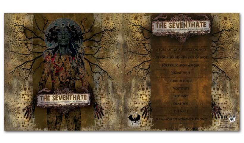 THE SEVENTHATE - LP | it's not while sleeping that your worst... 1