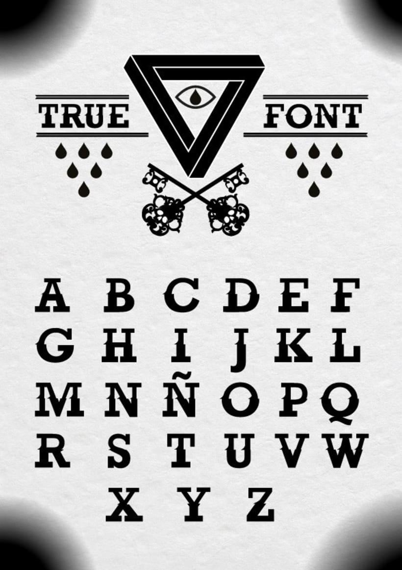 True Font 2