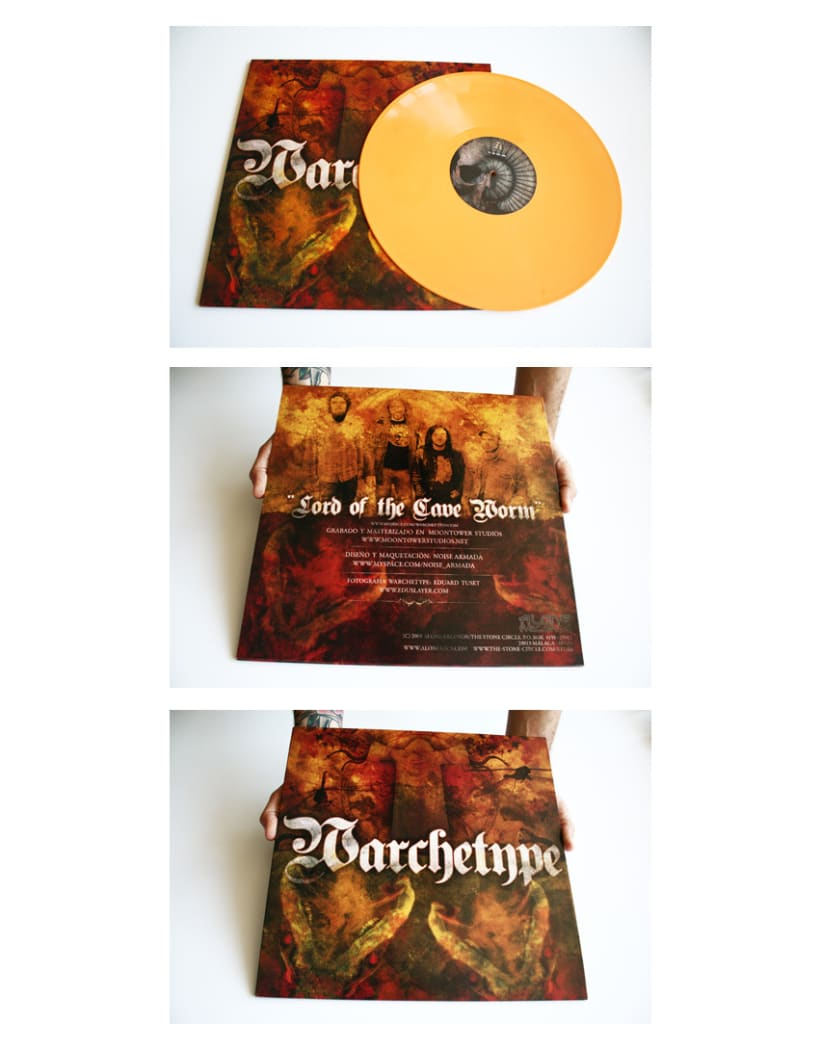 WARCHETYPE - LP | lord of the cave worm 2
