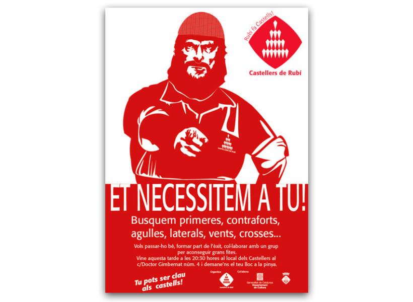 Imagen corporativa y comunicación de Castellers de Rubí 13