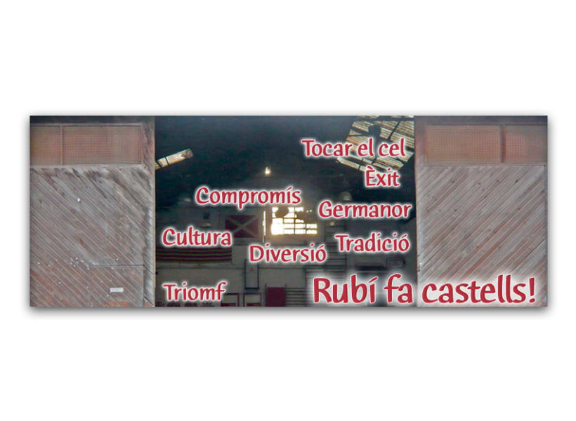 Imagen corporativa y comunicación de Castellers de Rubí 9