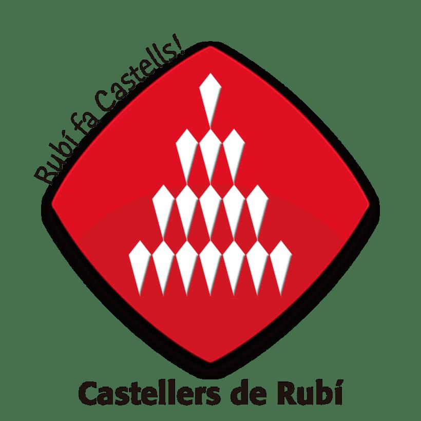 Imagen corporativa y comunicación de Castellers de Rubí 1