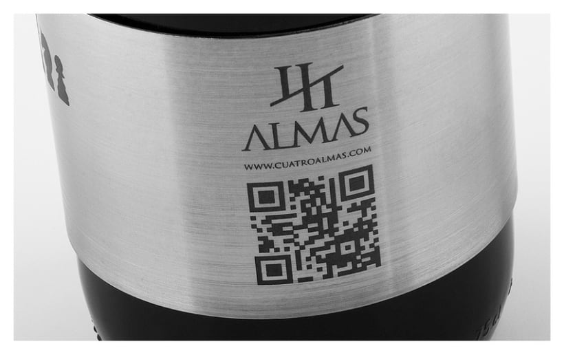 Cuatro Almas | Wine Packaging | Steel 15