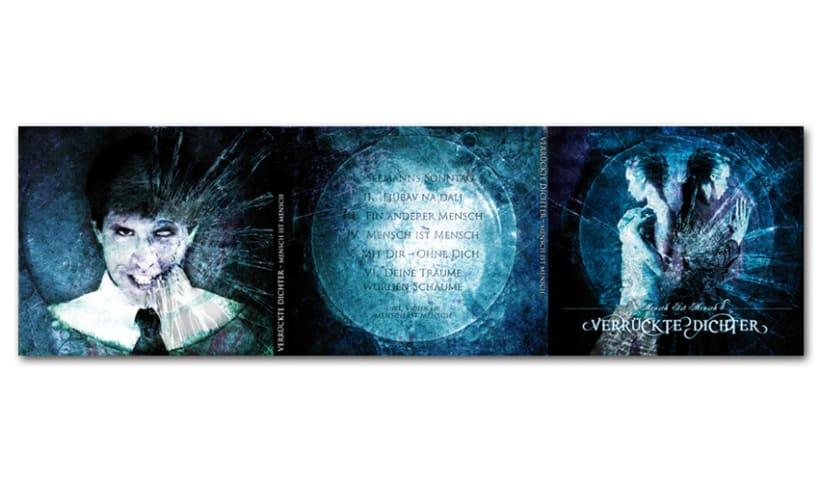 VERRÜCKTE DICHTER - CD | mensch ist mensch 1