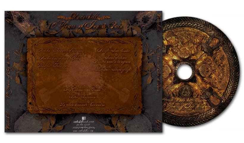 UNDERHILL RECOPILATORIO - CD | 10 years of joy & pain 4