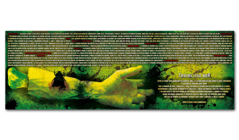 TOPOCHOS CRUST BAND - CD | topochos crust band 3