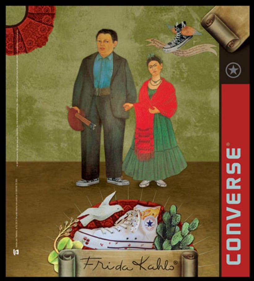 Converse Frida Kahlo 1
