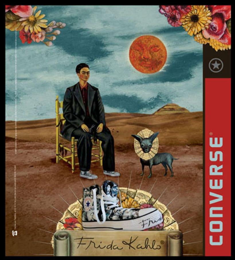 Converse Frida Kahlo 11