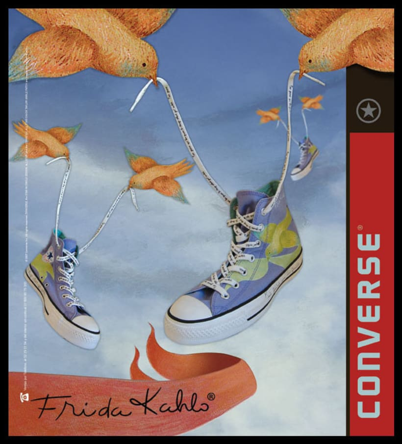 Converse Frida Kahlo 7