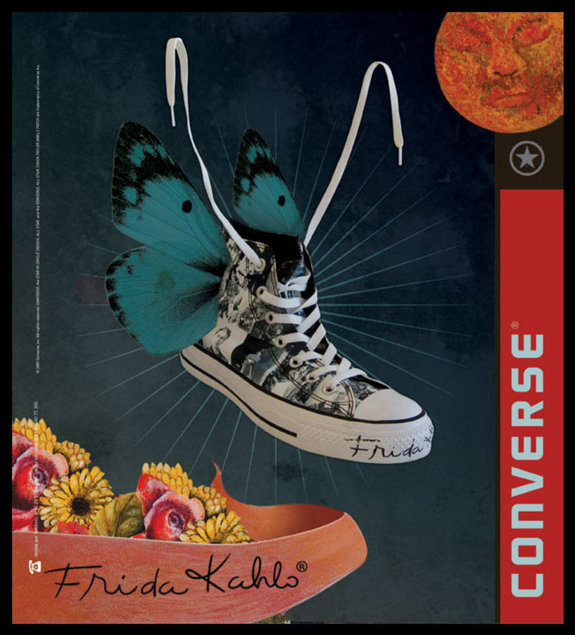 Converse Frida Kahlo 3