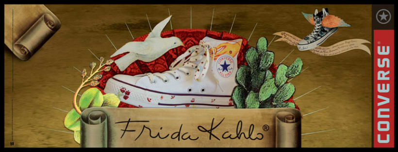 Converse Frida Kahlo 2