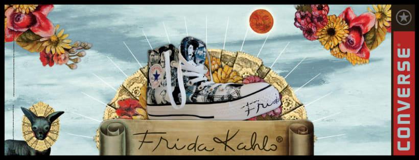 Converse Frida Kahlo 12