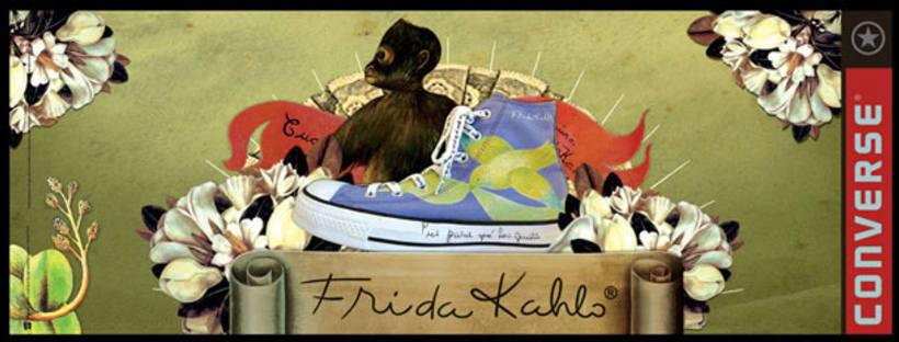 Converse Frida Kahlo 10
