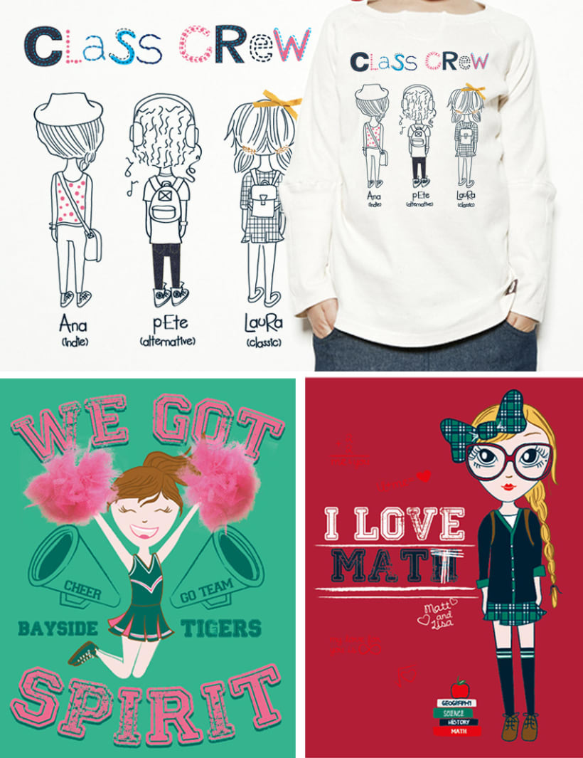 Back to School T-shirts 1