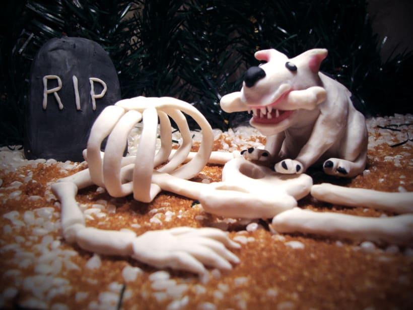 Modeling graveyard 3