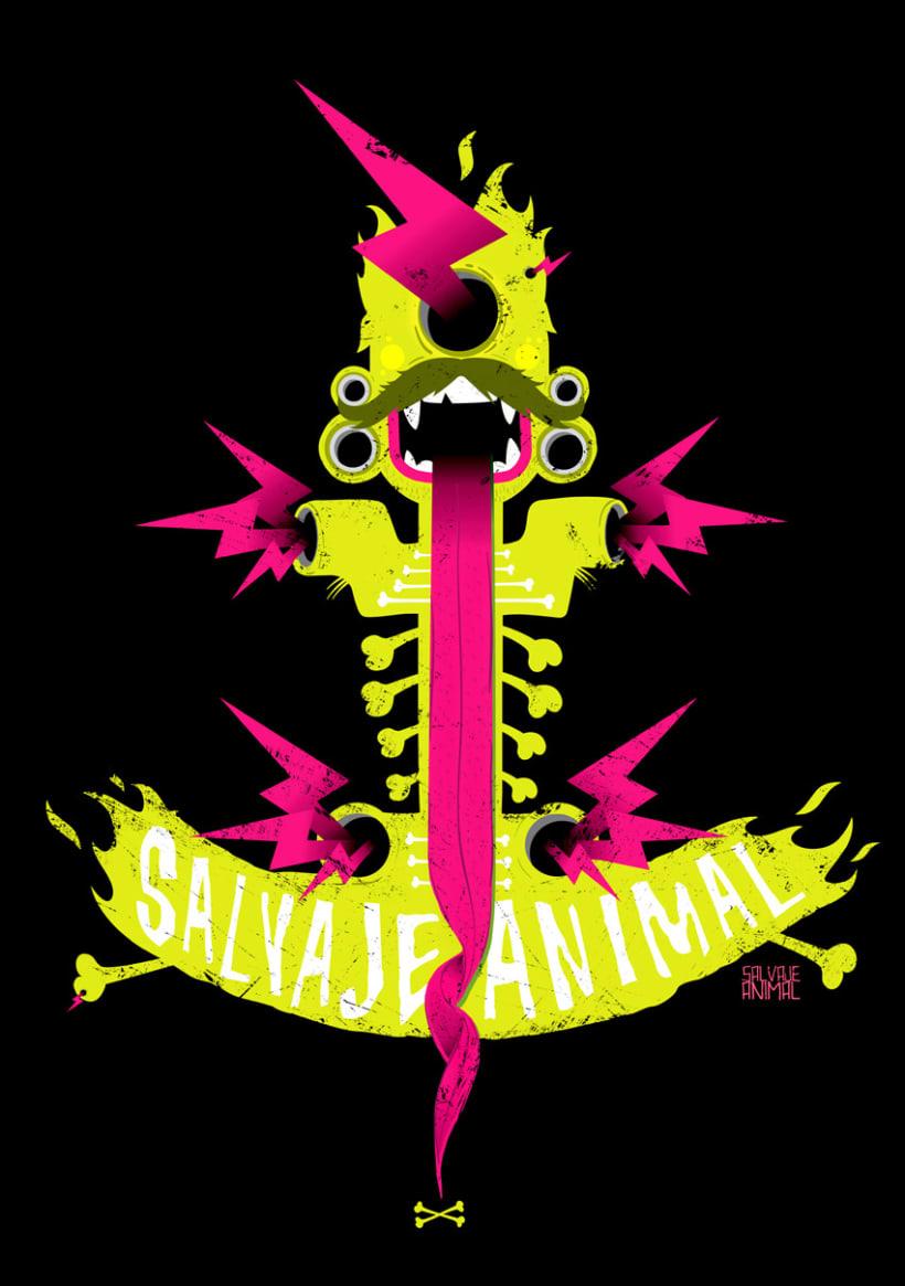 SALVAJEANIMAL T-shirts 2