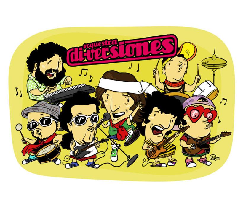 Caricatoona Orquestra Di-Versiones 1