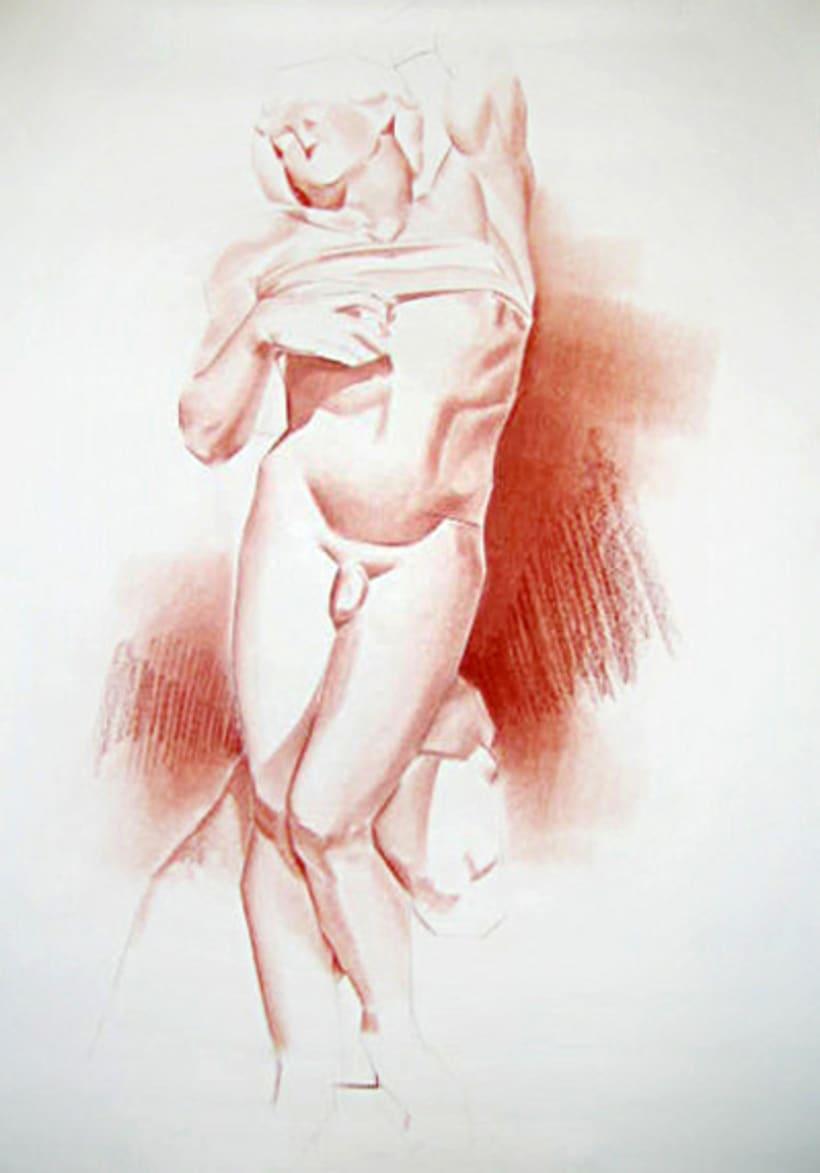 Dibujos estatua 4