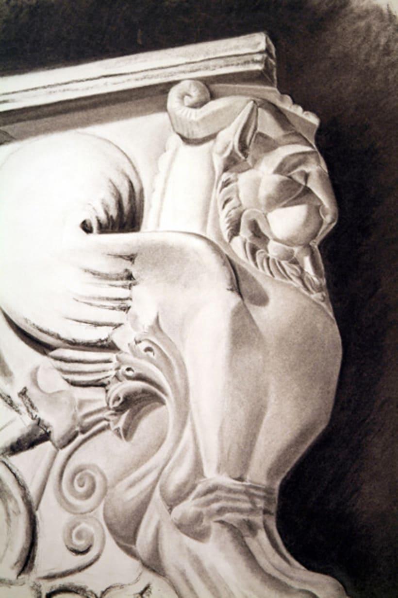 Dibujos estatua 3