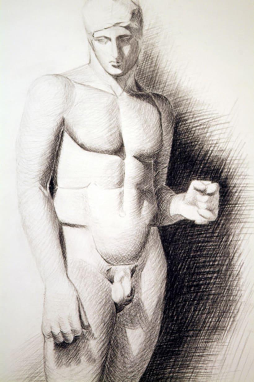 Dibujos estatua 2