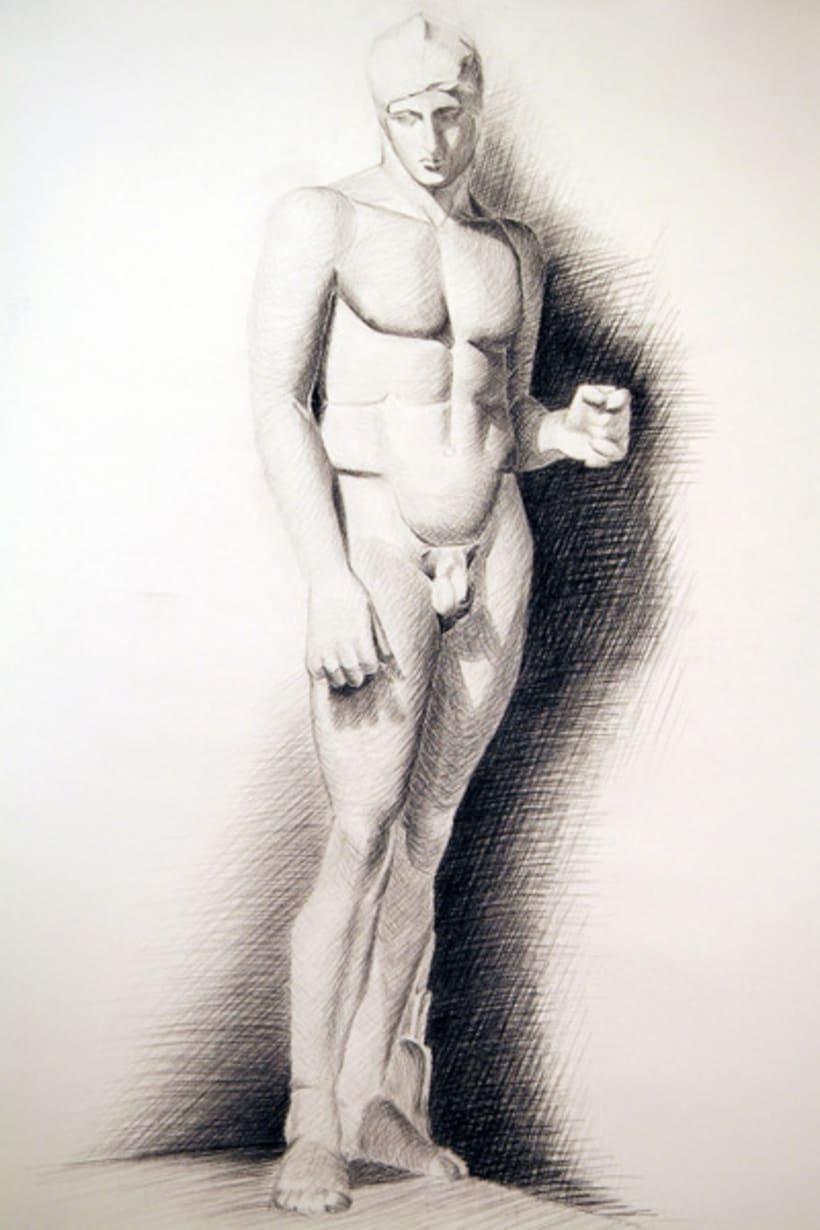 Dibujos estatua 1