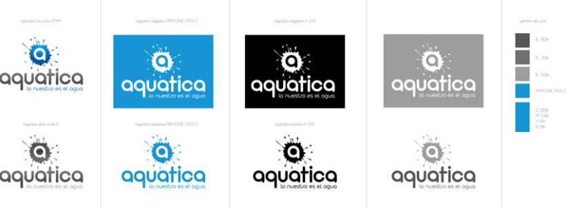 AQUATICA branding 2