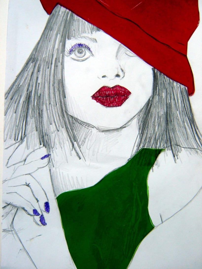 Ilustración Moda 4