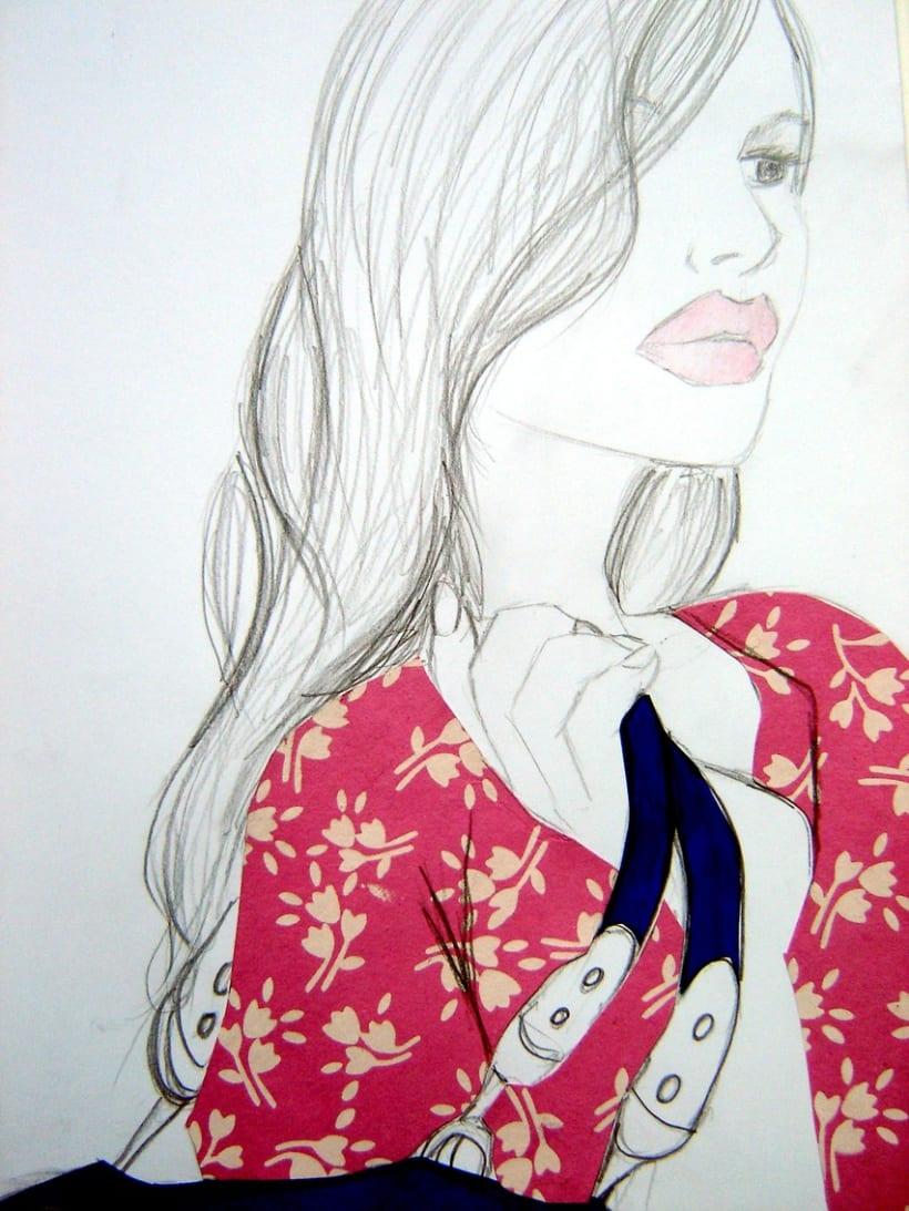 Ilustración Moda 1