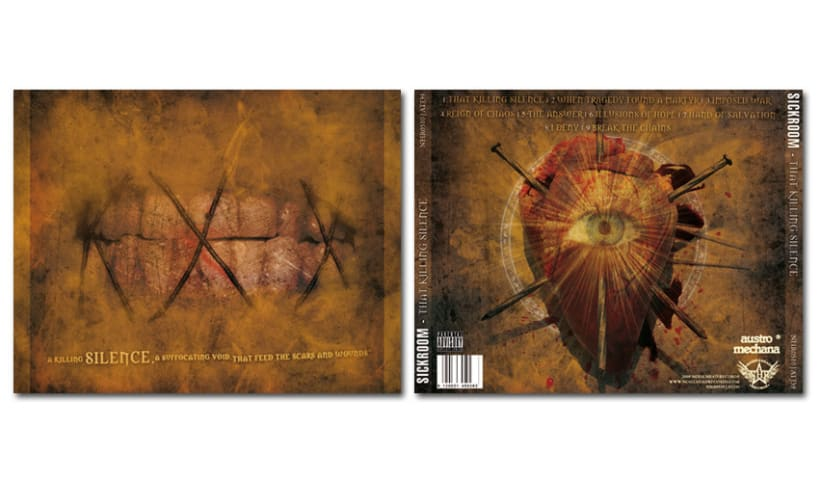SICKROOM - CD | that killing silence  10