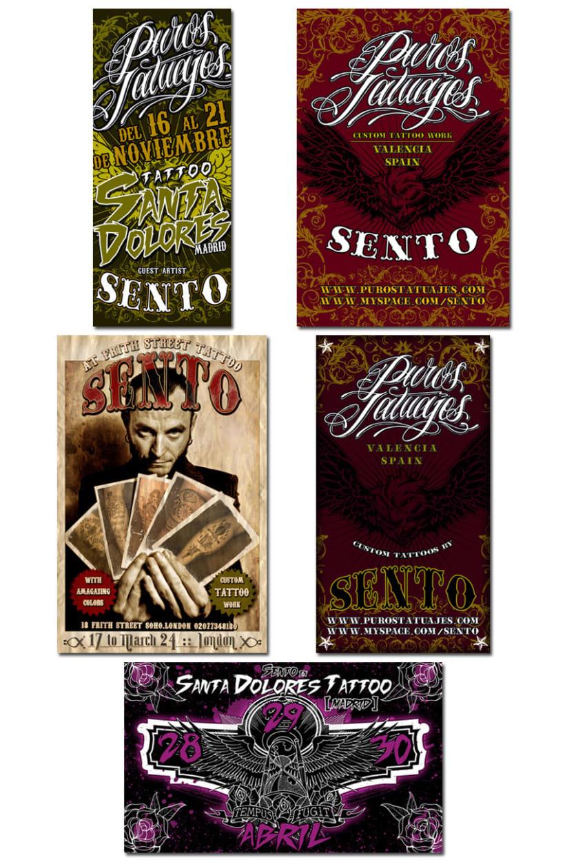 PUROS TATUAJES   tarjetas + flyers 2