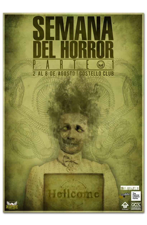 SEMANA DEL HORROR | poster 1