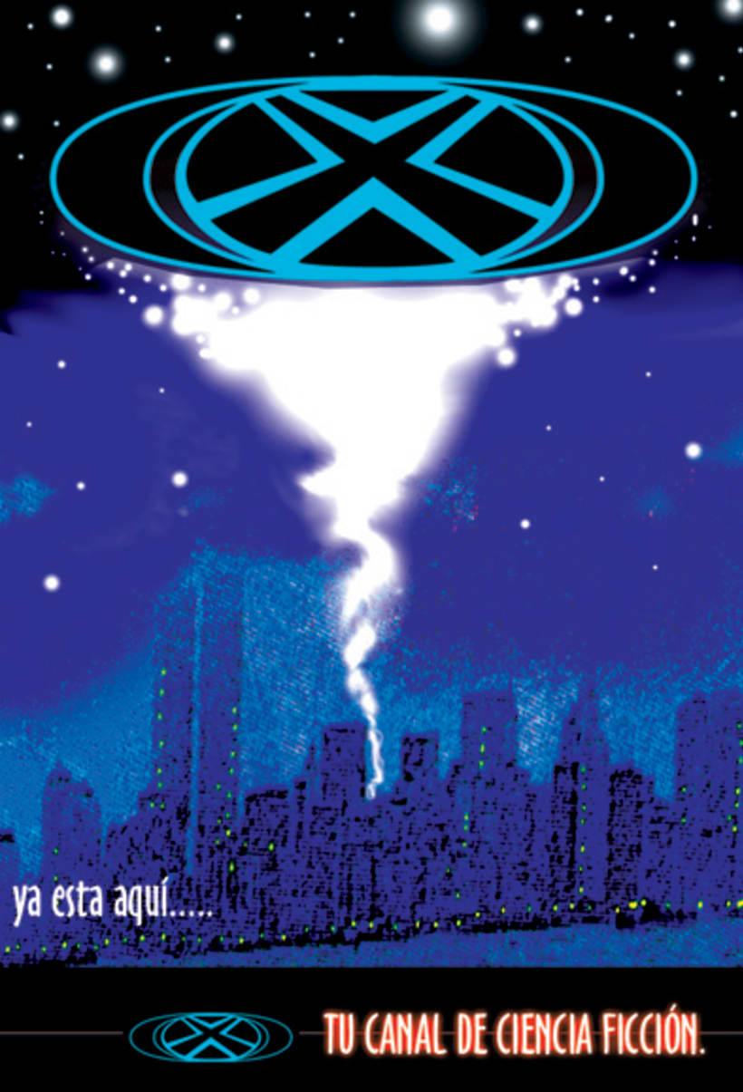 X, tu canal de ciencia ficción 1