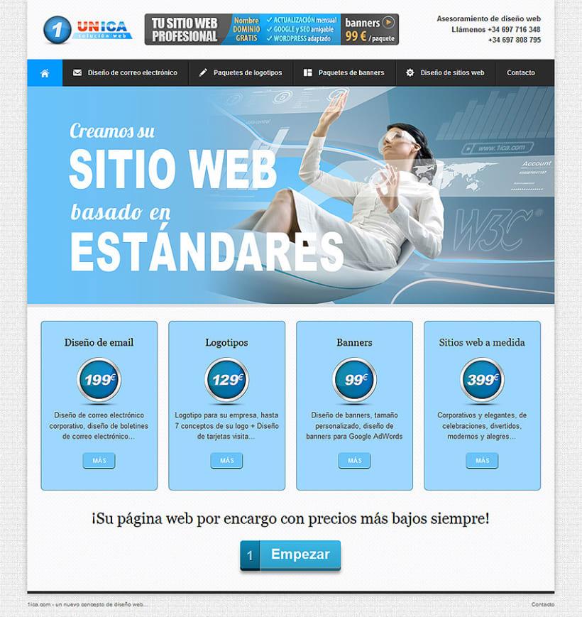 Estudio Diseño Web. Sitio Web  1