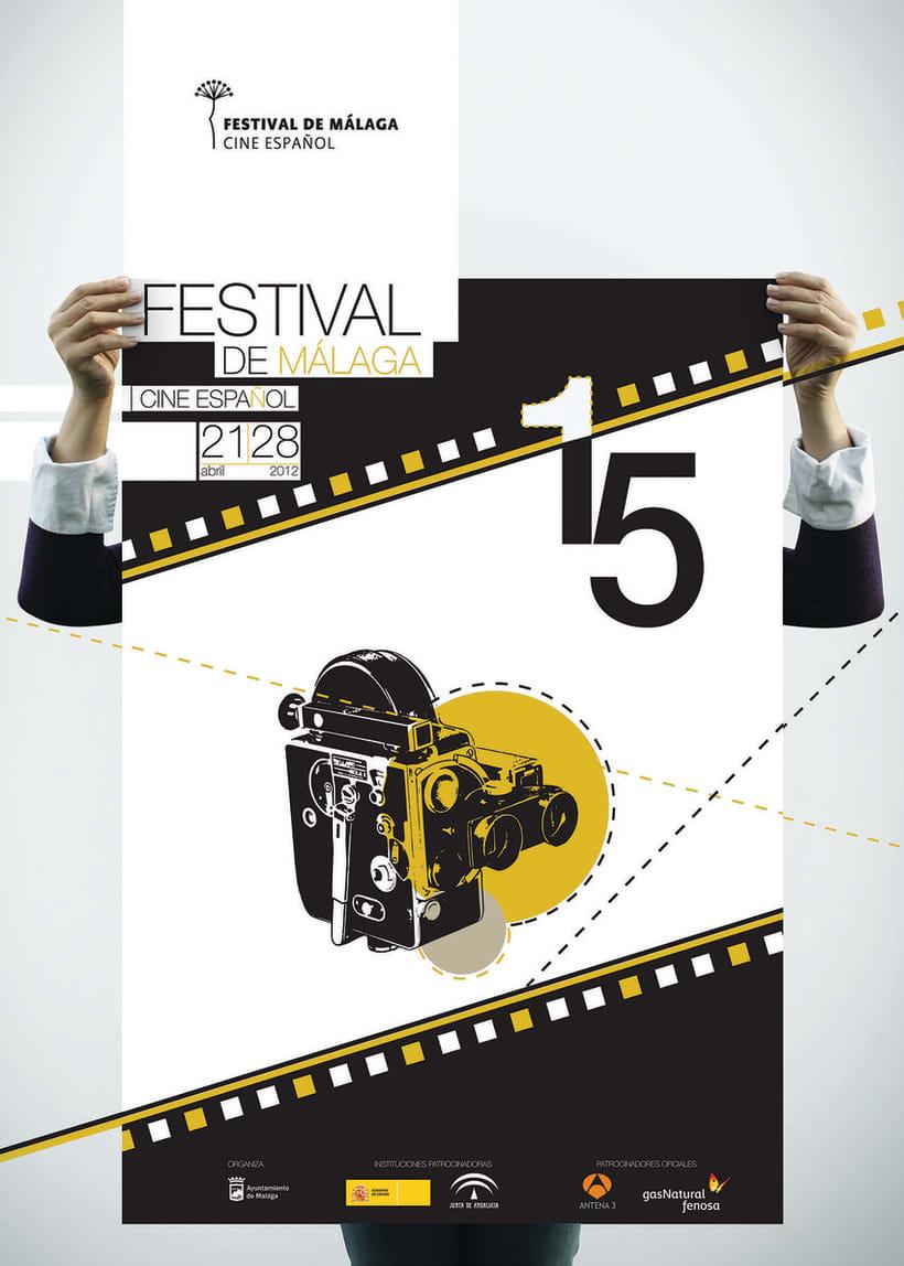 cartel festival cine: