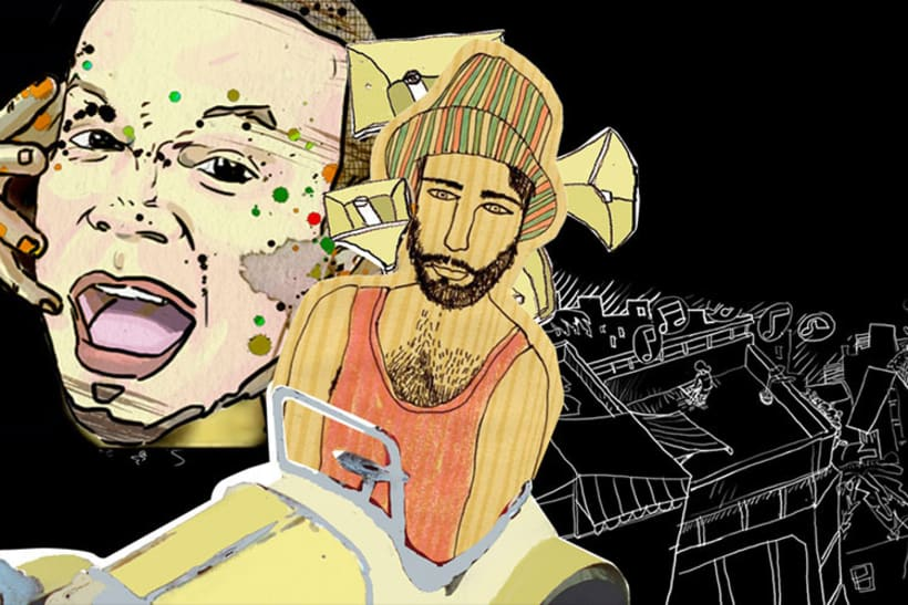 EL PAIS con Calle 13 6