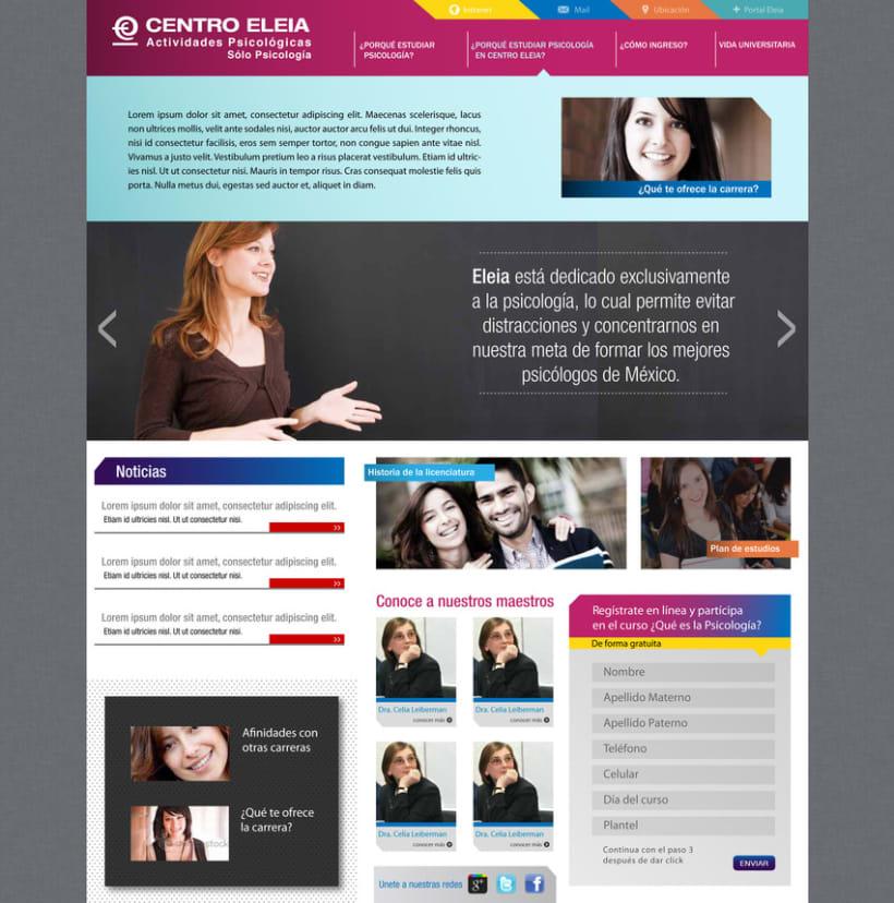 Pagina Web Centro Eleia 1