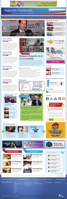 Pagina Web Alejandro Maldonado 1