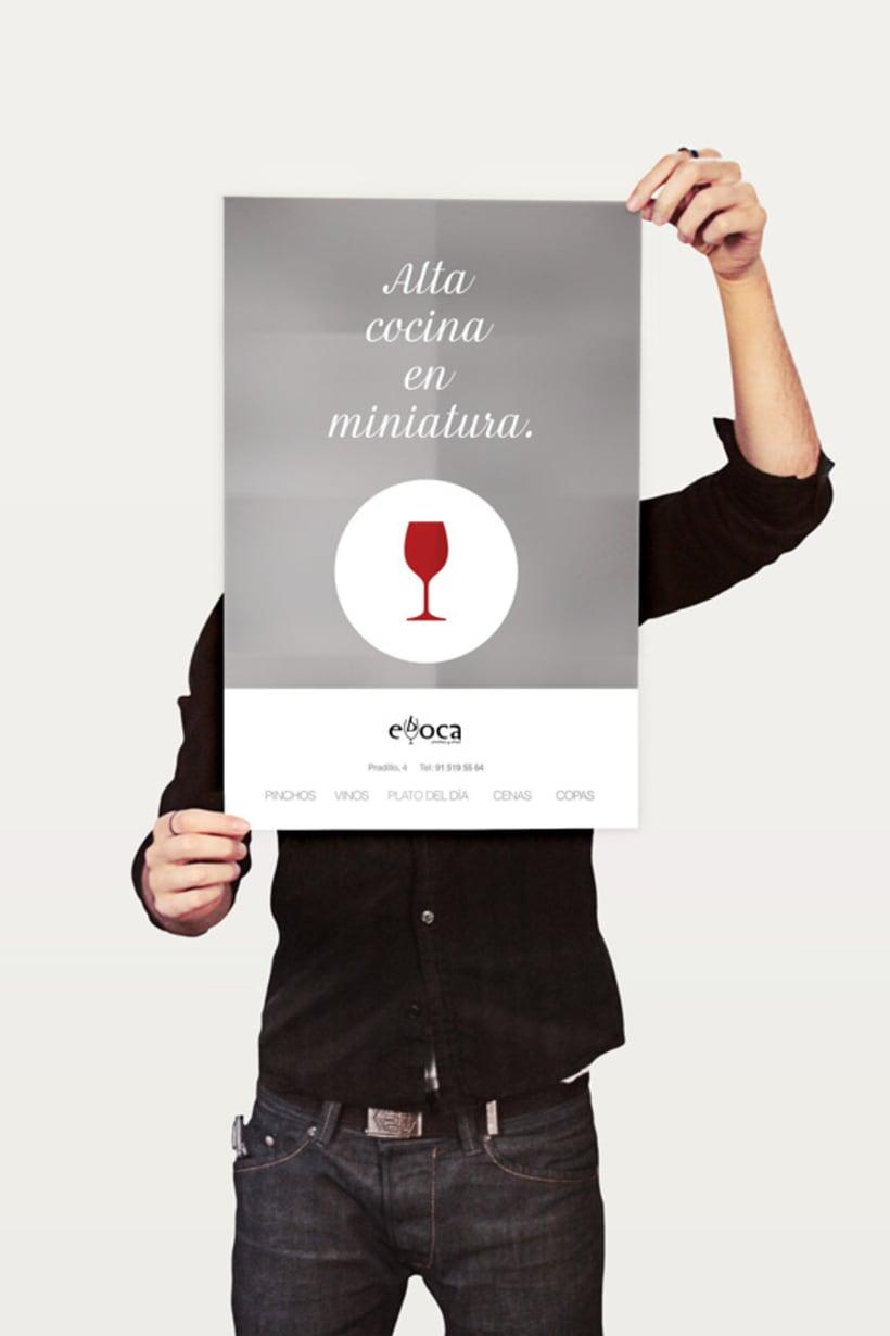 Evboca Pinchos y Vinos - Alta Cocina en Miniatura. Posters. 3