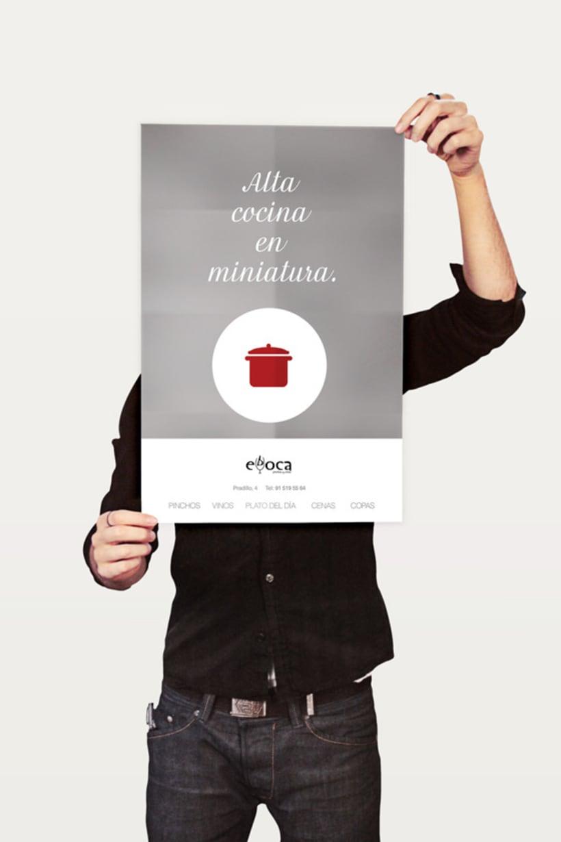 Evboca Pinchos y Vinos - Alta Cocina en Miniatura. Posters. 2