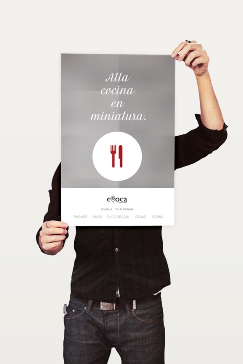 Evboca Pinchos y Vinos - Alta Cocina en Miniatura. Posters. 1