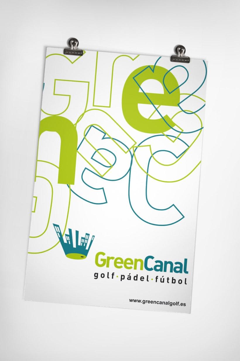 GreenCanal Golf Club. Folders, Brochures. 3