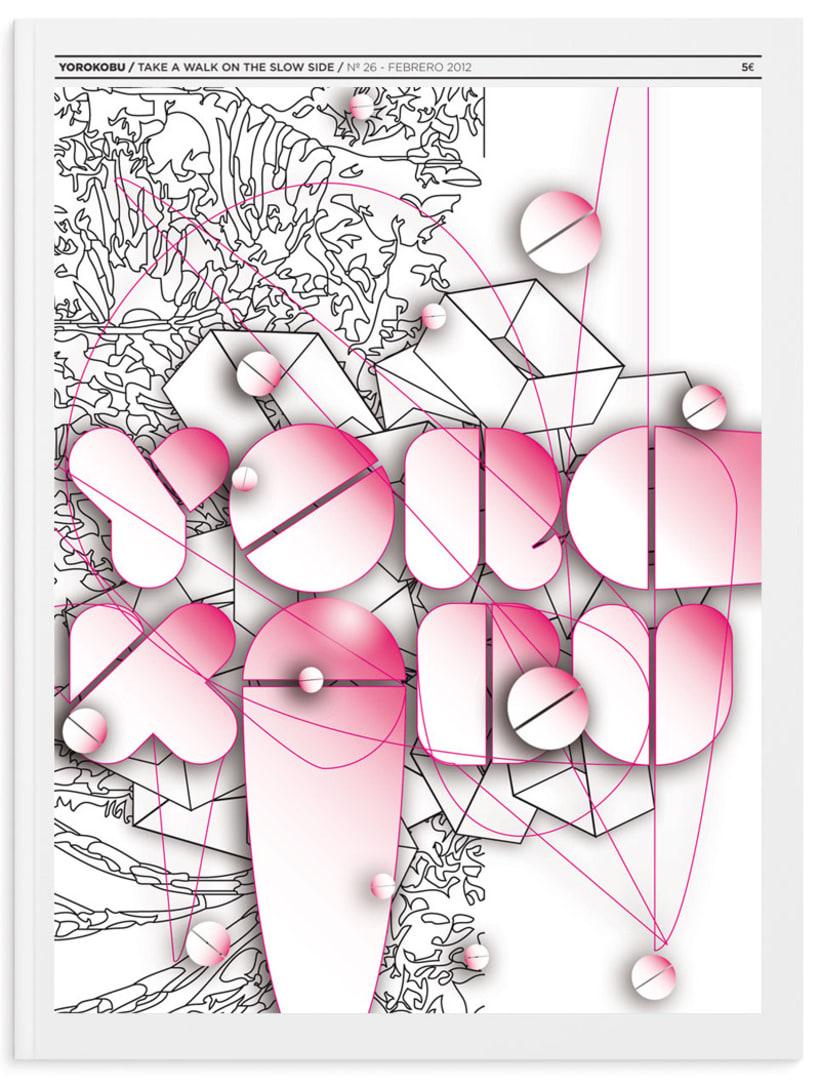 Yorokobu Mag - Propuesta Cover/Concurso 2