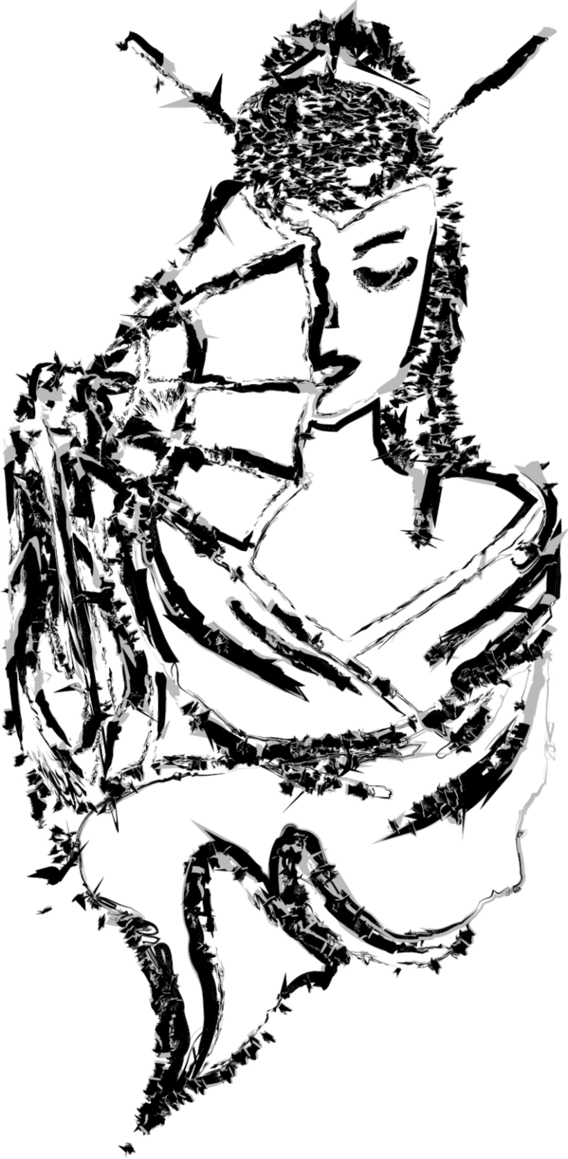 rediseño propuesta memorias de una geisha 2