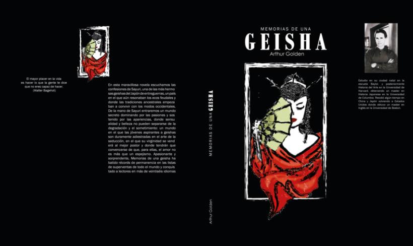 rediseño propuesta memorias de una geisha 4
